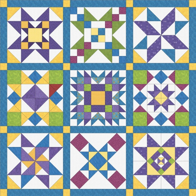 Tuning My Heart Quilts Free Block Of The Week